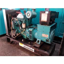 二手小型康明斯50kw柴油发电机组带底座油箱