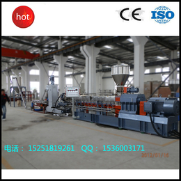南京广塑GS-75 厂家直销高产量双螺杆水环造粒机