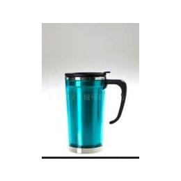 旅游纪念品 绿色101-<em>500ml</em> 不锈钢单层汽车杯(<em>PC</em>外壳)