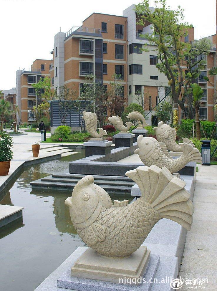 假山喷泉雕塑 小区景观雕塑