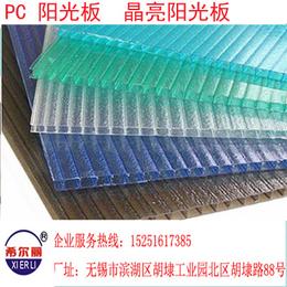广安供应农业温室PC中空阳光板透明度高