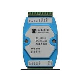 RS485隔离中继器 弘高通信HG616 外接8-30V电源 防雷防浪涌保护