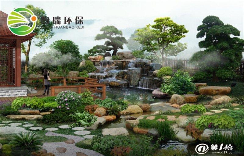别墅景观鱼池设计建造方案鱼池净化过滤庭院景观鱼池