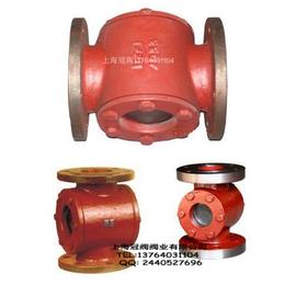 船用法兰铸铁液流观察器 上海液流观察器