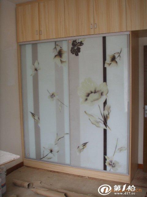 衣柜推拉门 钛合金衣柜门 玻璃推拉门 壁柜推拉门 衣柜门