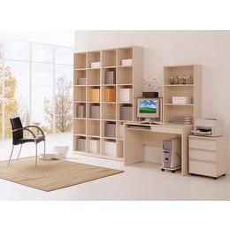 江西简洁实用置书柜 板式藏书柜家具