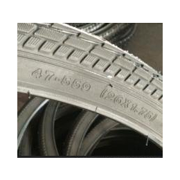 供应不同型号的自行车的彩胎和黑胎