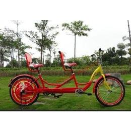 供应卡帕奇双人自行车商务用车广场出租骑行车