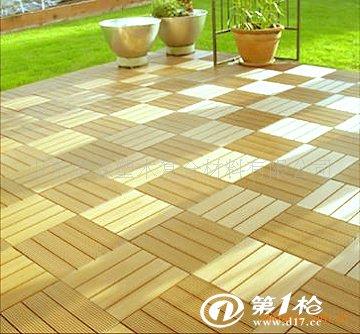 供应阳台地板 塑木组合地板