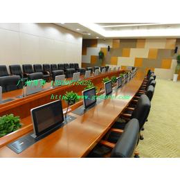 供应武汉多媒体超薄液晶显示器升降会议桌