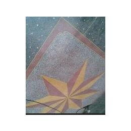 水磨石地坪施工队 制作水磨石地坪铜花 夜光花 塑料花