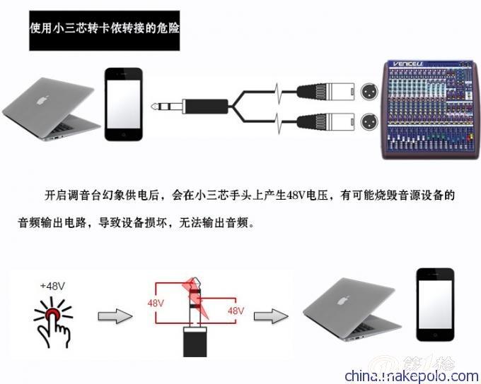 jq audio la-2 音频隔离器音频信号滤波器卡侬接口600