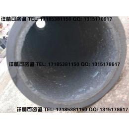 金矿石精选松散物料输送用贴片陶瓷复合管