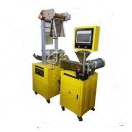 厚天 塑料吹膜机 实验型吹膜机 小型吹膜机价格电话详
