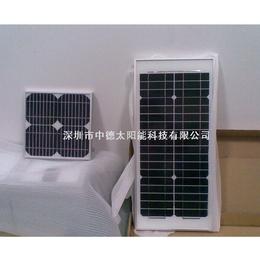 供应厂家直销太阳能滴胶板 太阳能屋顶发电系统 18v150w