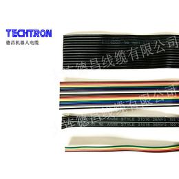 德昌线缆 环保美标UL21016低烟无卤排线 低压高柔电子线