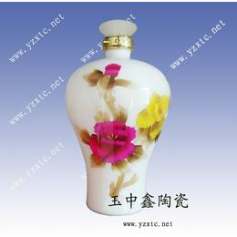 陶瓷酒瓶定做5斤装酒瓶酒瓶批发