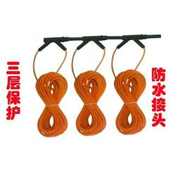 碳纤维地暖安装  发热电缆安装  重庆电地暖安装