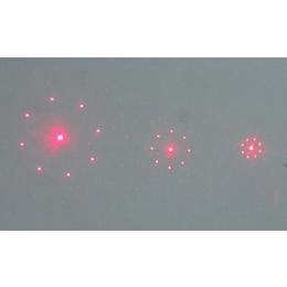 八点圆定位图形光栅镜片激光测温专用激光器光栅片定制生产