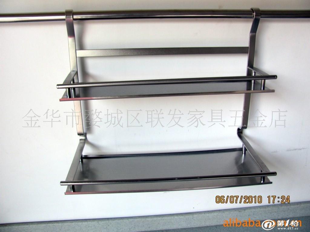 橱柜挂件 置物架 不锈钢挂件 厨房挂件图片