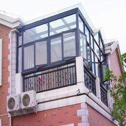 铝合金平顶阳光房 隔音 隔热 豪华夹胶玻璃房