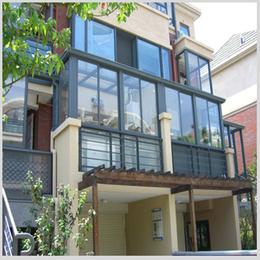 铝合金阳光房材料  欧式阳光房 露台阳光房材料
