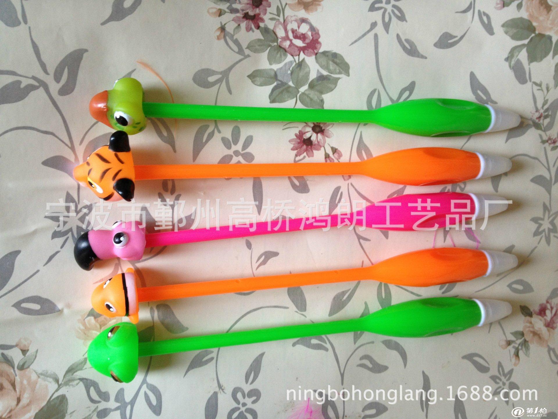 【厂家直销】供应可爱动物造型圆珠笔