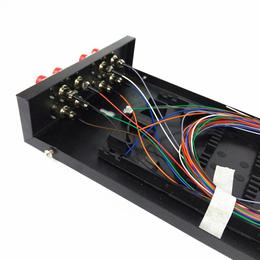 满配8芯8口SC尾纤盒光纤终端盒光缆保护盒