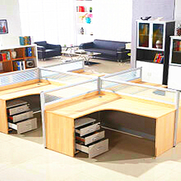 办公桌销售 F型双人位办公桌