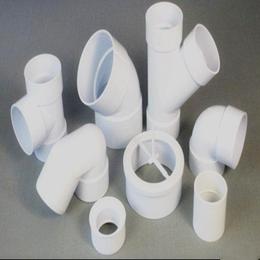 厂家直销江西PVC给水管材管件 变径弯头扁管配件