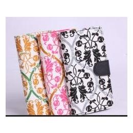 iPhone6/5/4s时尚印花手机保护皮套  定制 生产厂家 琪润皮具