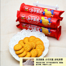 乐吧小早餐饼干50g红办公室健康休闲零食小吃点心