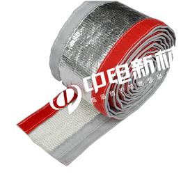 阻燃铝箔管玻纤管铝箔高温管玻璃纤维搭扣套管防辐射隔热保温布