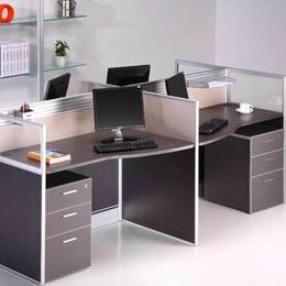 屏风办公桌 带屏风 定制销售