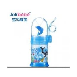 <em>儿童</em>喝水<em>杯子</em>带吸管 <em>儿童</em>卡通水杯吸管杯喷喷乐 创意海豚杯