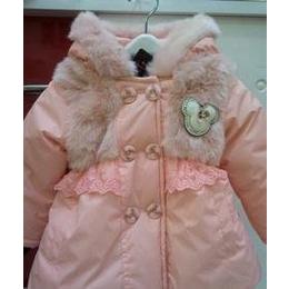 服装< 童装、婴幼儿服装 > 童羽绒服