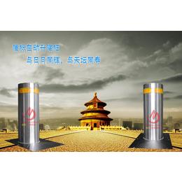 广东液压伸缩路锥 钢管警示柱 不锈钢路桩 路障防撞柱