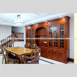 实木餐厅家具系列原木定制