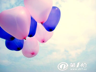 魔术气球心形制作图解