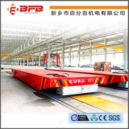 供应16吨转运药渣+废料滑触线电动平车+龙门吊配套电动运输车