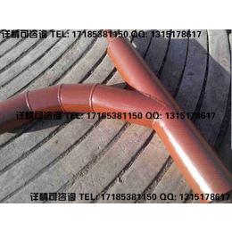陶瓷复合管产品结构安装施工