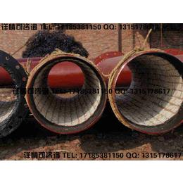 陶瓷复合管技术参数生产工艺