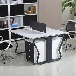 各种蝴蝶钢架办公桌 带屏风 定制直销