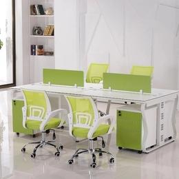 各种蝴蝶钢架办公桌 定制直销