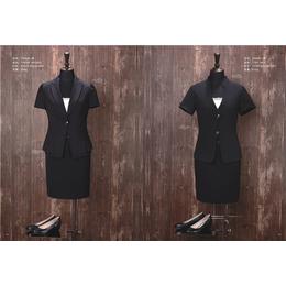 江西厂家批发2018新款黑色套装 女装西服职业装