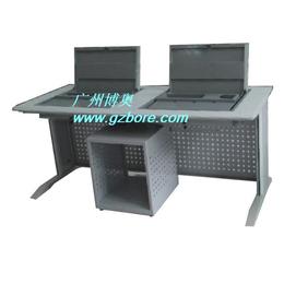 博奥BR039三人位翻转电脑桌 潍坊机房电脑翻转桌