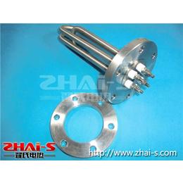 供应平面法兰U型不锈钢电热管