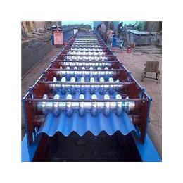 圆弧彩钢瓦浩鑫780型圆弧压瓦机厂家直销彩钢瓦设备