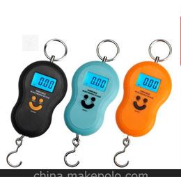 行李称厂家直供 40KG便携式手提行李秤 葫芦笑脸 电子行李秤