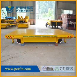 石化行业运输搬运车低压轨道电动平车